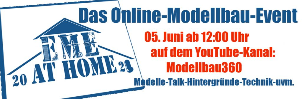 Banner Euro Model Expo at Home 2021