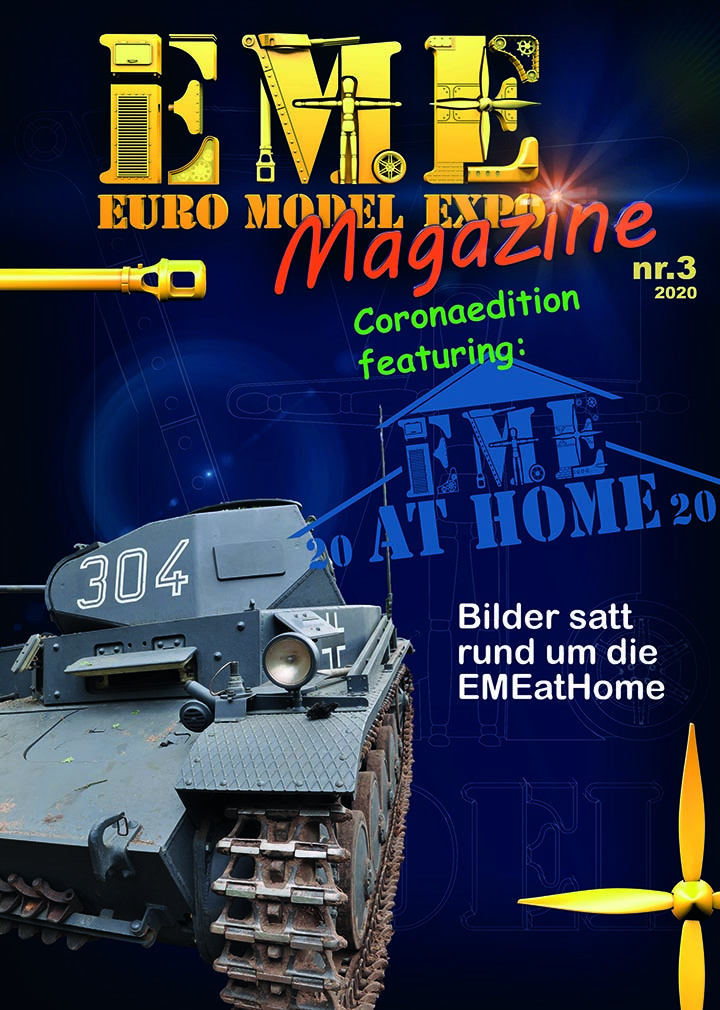 Messemagazin EME at Home 2020 Cover